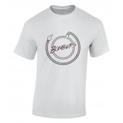 Bombers Guys Pink and Green Logo T-Shirt
