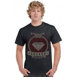 Squash Diamond Black T-Shirt